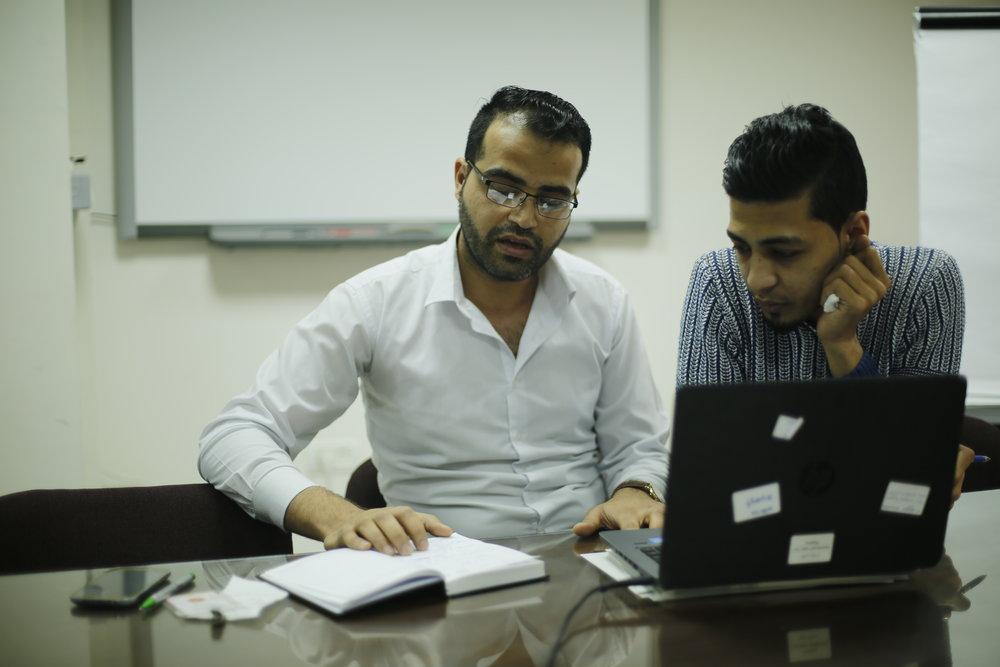 Murad Matar and Anas Jnena