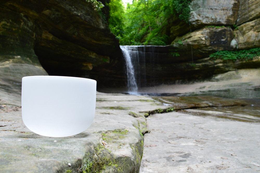 Crystal Singing Bowls SOUND BATH
