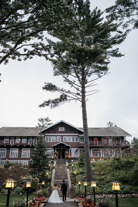 Grand View Lodge wedding photography by Britt DeZeeuw