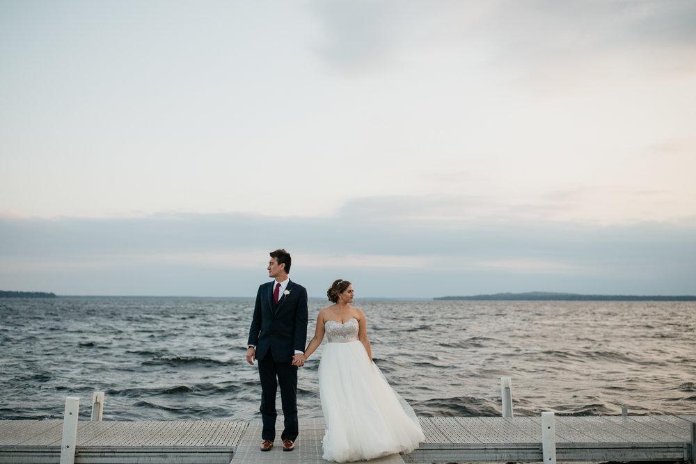 Photo by Britt DeZeeuw, Grand View Lodge wedding photographer.