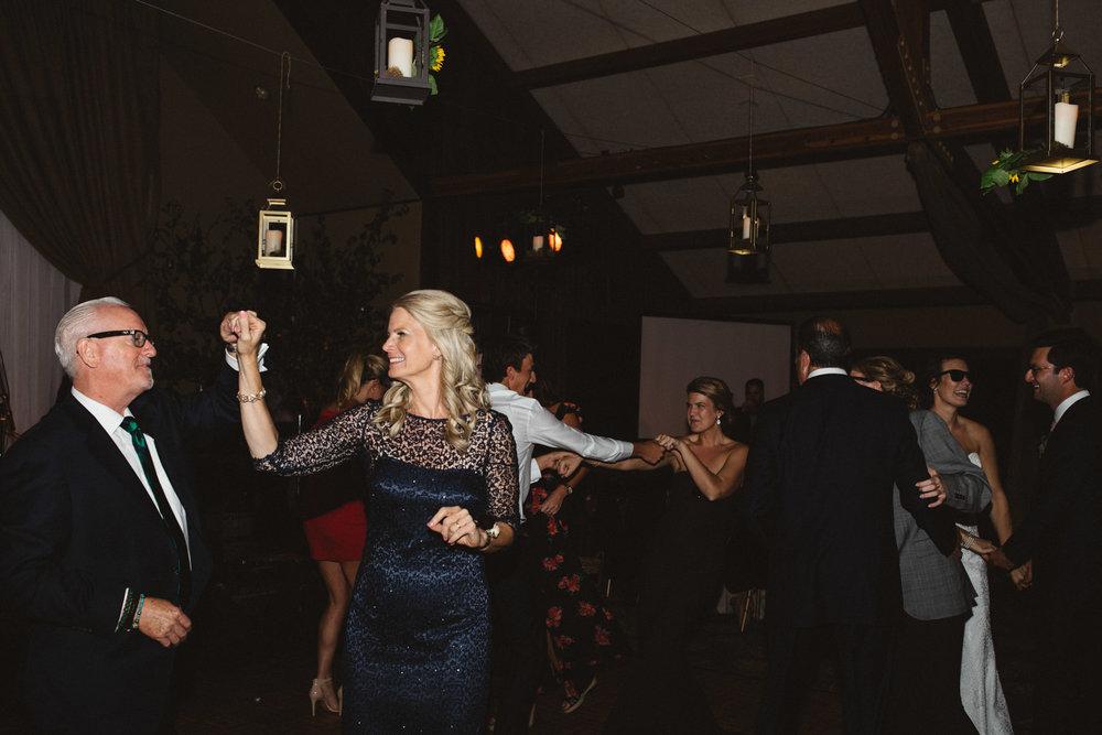 Candid dance photos at Grand View Lodge wedding, photography by Britt DeZeeuw