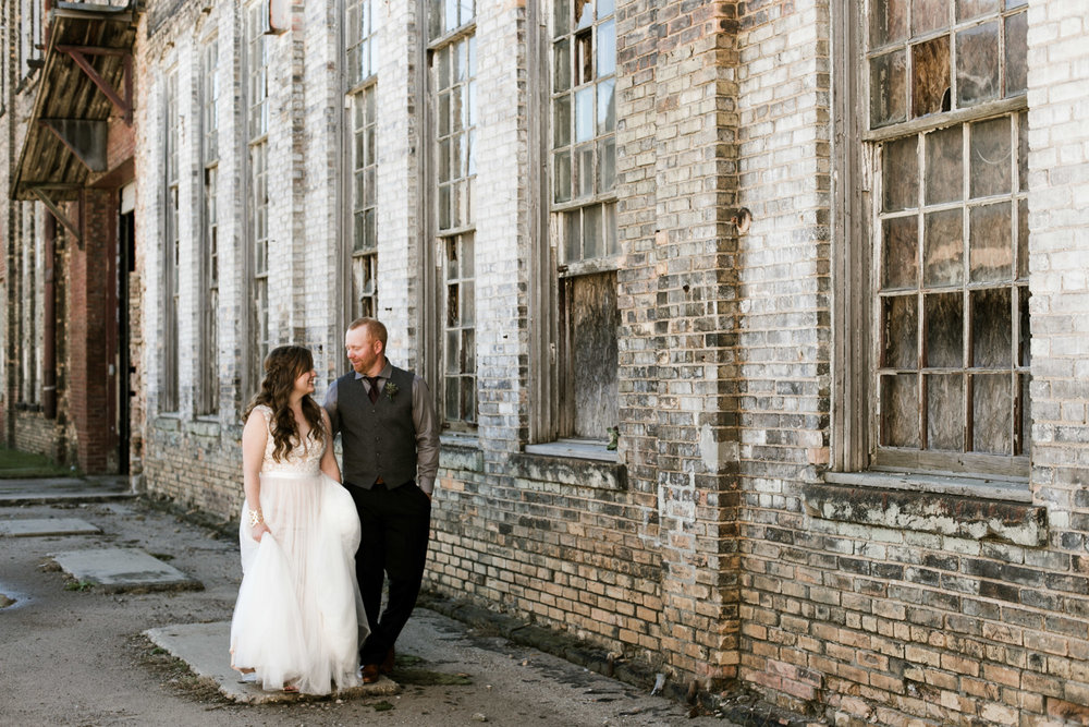 Journalistic wedding photography by Britt DeZeeuw, NP Event Space photographer.