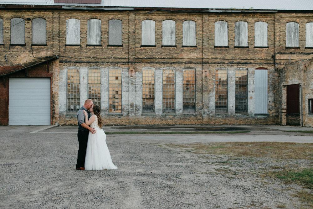 Np Event Space wedding photography by Britt DeZeeuw, Brainerd Minnesota photographer