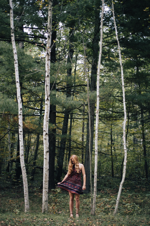 Artistic high school senior photography by Britt DeZeeuw, Brainerd Minnesota photographer