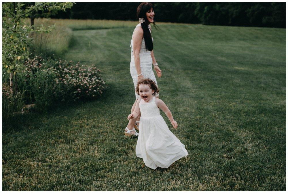 Summer wedding at Creekside Farm in Rush City Minnesota