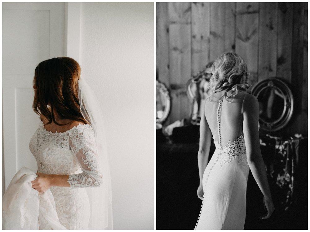 Documentary style bridal portraits photographed by Britt DeZeeuw Brainerd MN wedding photographer