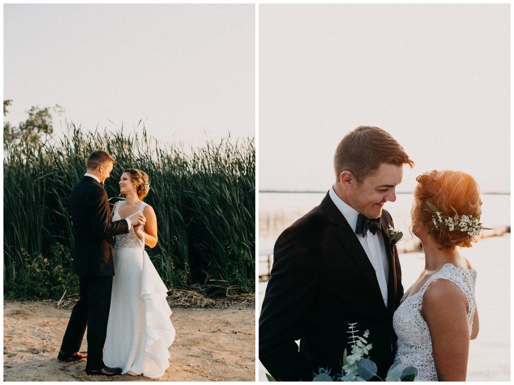 Brainerd Minnesota intimate lakeside wedding photographed by Britt DeZeeuw