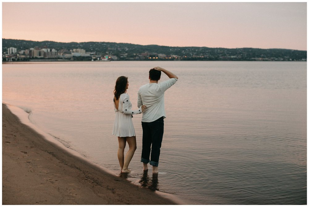 Duluth engagement session by Britt DeZeeuw Photography