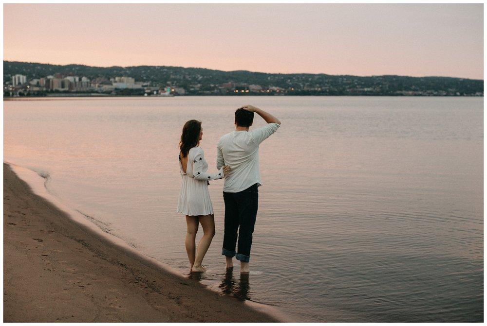 Duluth engagement session by Britt DeZeeuw Photography