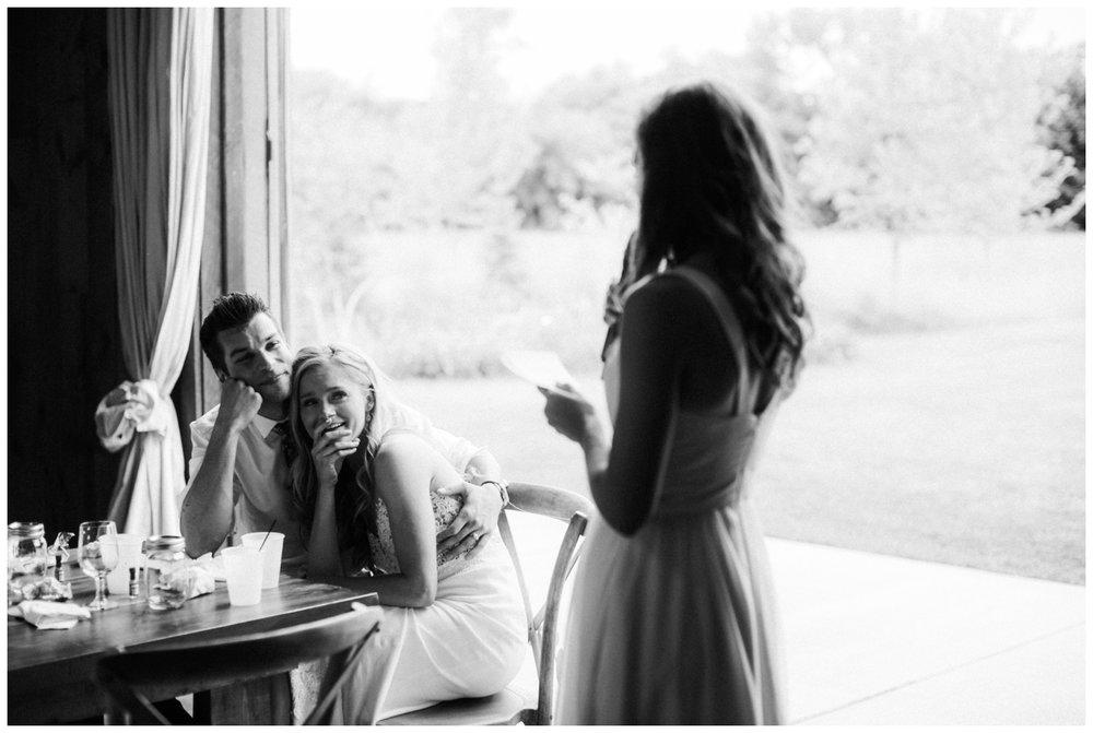 Emotional wedding at Creekside Farm in Rush City Minnesota