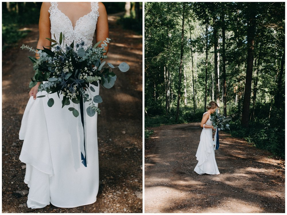 Lake Edward cabin wedding in Brainerd Minnesota