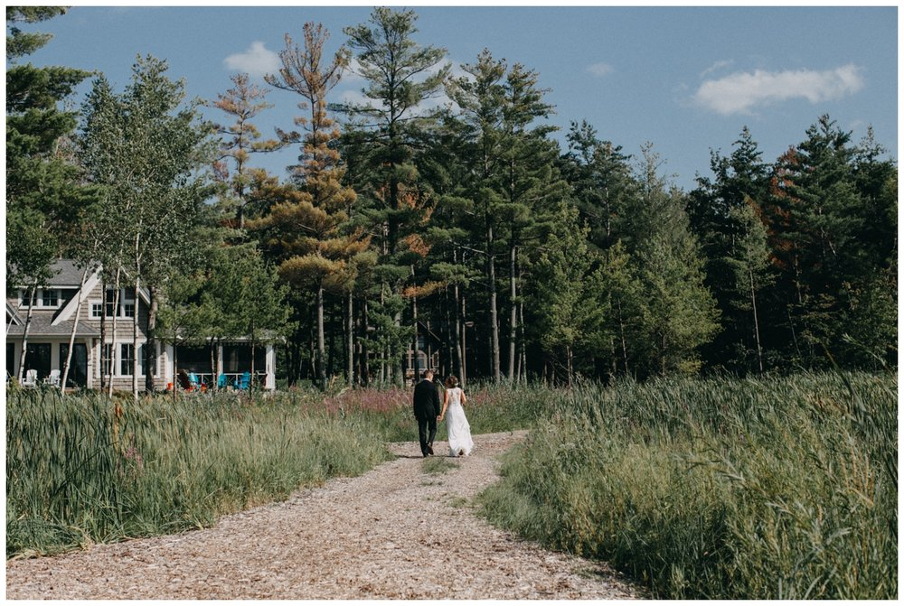 Northern MN lake cottage wedding by Britt DeZeeuw