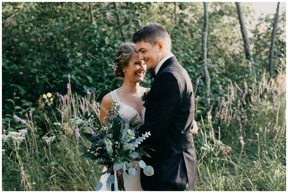 Intimate cottage wedding on Lake Edward by Britt DeZeeuw
