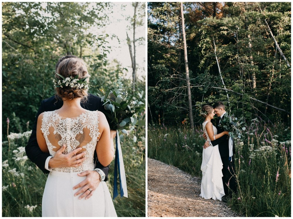 Romantic Lake Edward wedding by Brainerd photographer Britt DeZeeuw