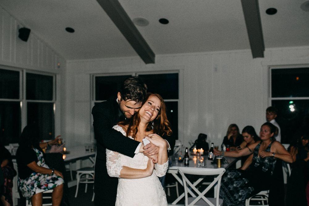 Quarterdeck wedding