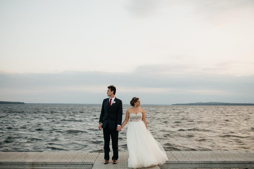Lauren and Trey's wedding at Grand View Lodge on Gull Lake in Nisswa Minnesota. Photography by Britt DeZeeuw, Brainerd Minnesota photographer.