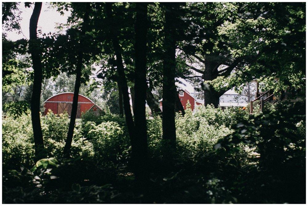 Barn wedding at Creekside Farm in Rush City, Minnesota photographed by Britt DeZeeuw