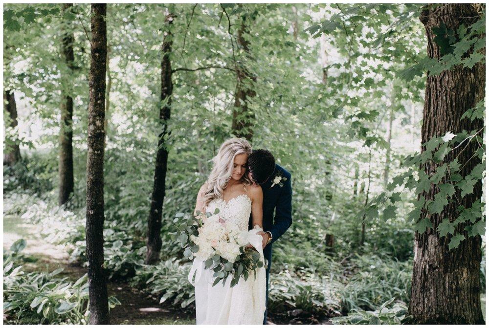 July wedding at Creekside Farm in Rush City, Minnesota