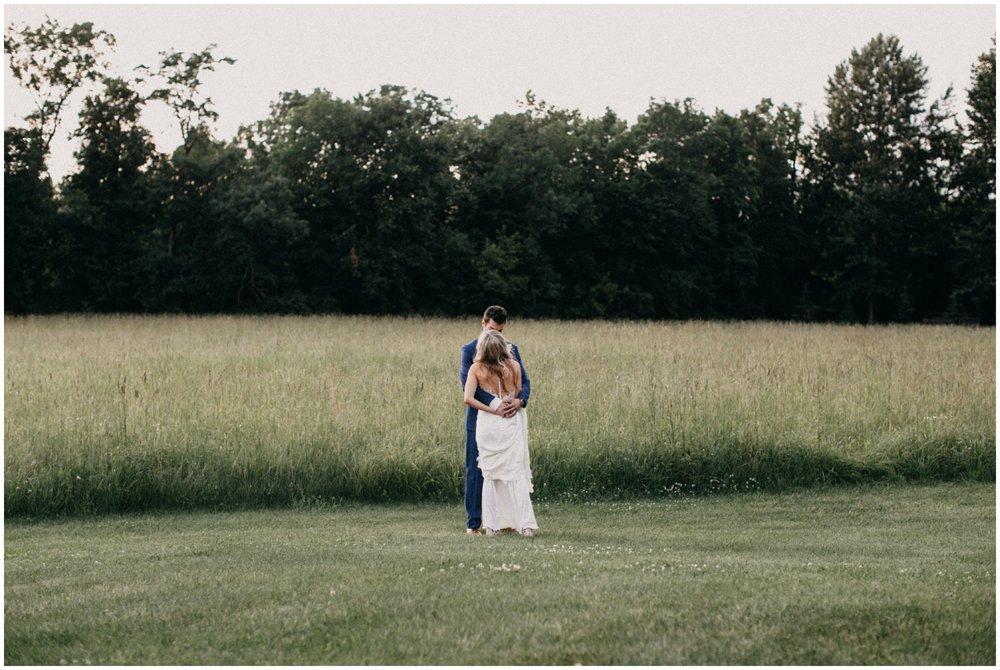 Romantic summer wedding at Creekside Farm