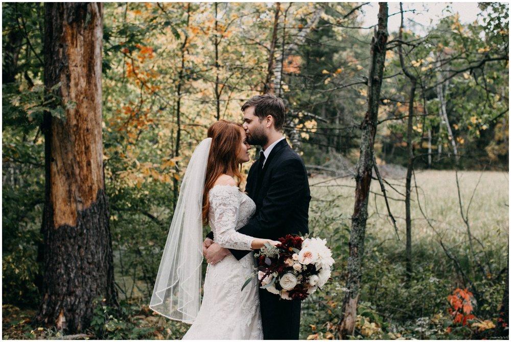 September wedding at the Quarterdeck in Brainerd Minnesota