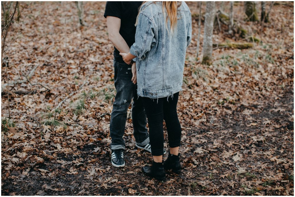 Woodland engagement in the spring at Fritz Loven Park