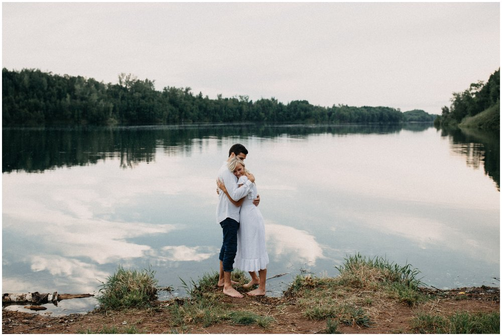Intimate & emotional engagement session Photographed by documentary wedding and portrait photographer Britt DeZeeuw