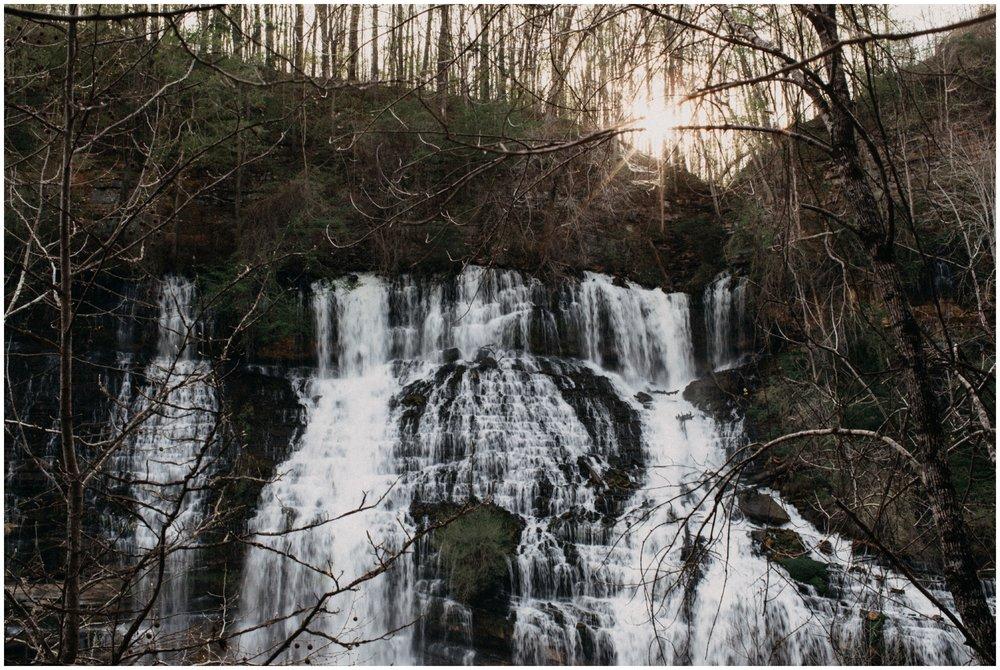 Twin Falls engagement session by Nashville, TN wedding photographer Britt DeZeeuw