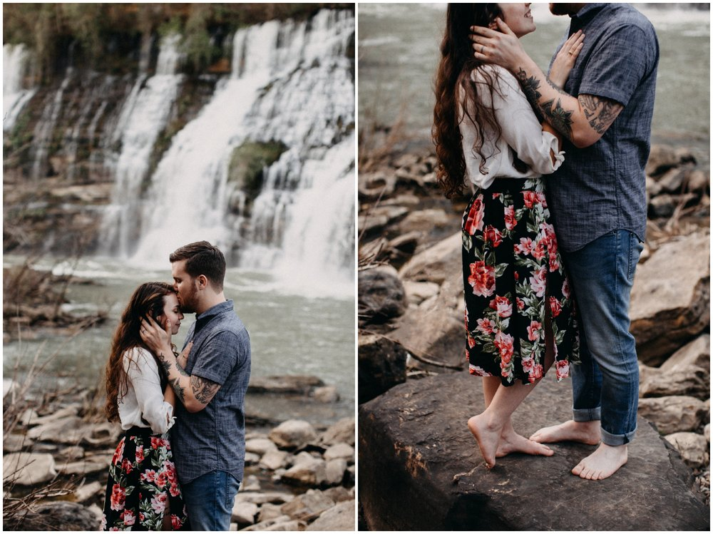Rock Island engagement photographed by destination wedding photographer Britt DeZeeuw