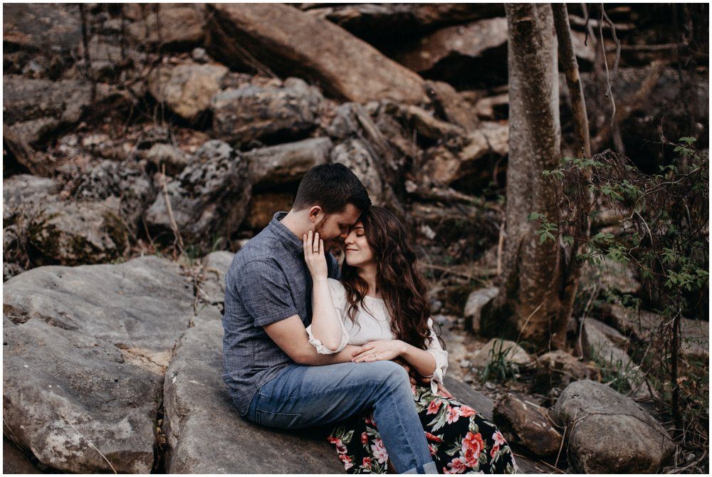Rock Island engagement session photographed by destination wedding photographer Britt DeZeeuw