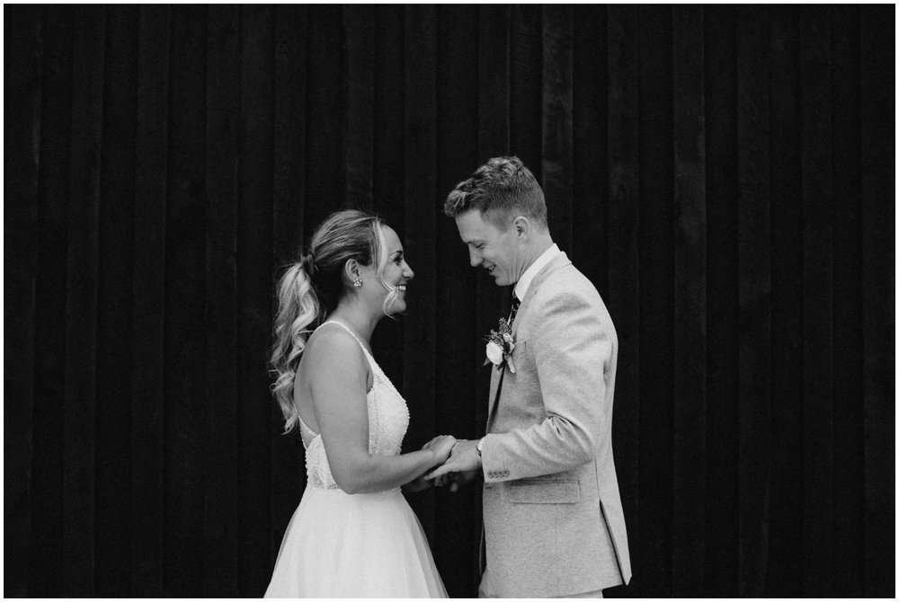 Summer Camp wedding in the woods in Pine River MN photographed by Britt DeZeeuw