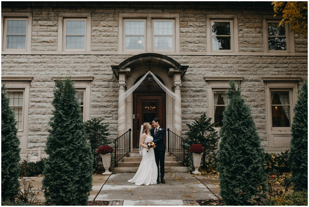 Modern wedding photography at the St Paul College Club by Britt DeZeeuw