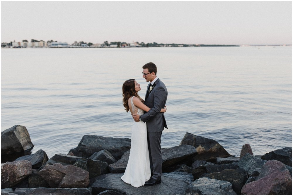 Summer wedding on the north shore in Duluth, MN photographed by Britt DeZeeuw