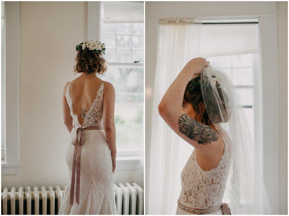 Romantic chic wedding in Duluth Minnesota