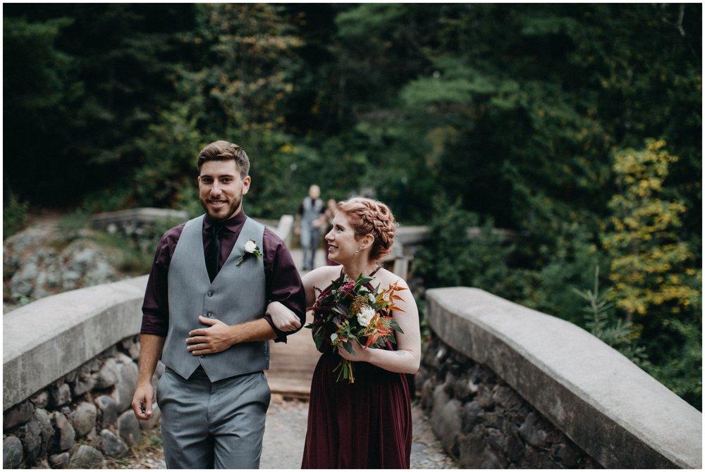 Lester Park wedding ceremony in Duluth Minnesota