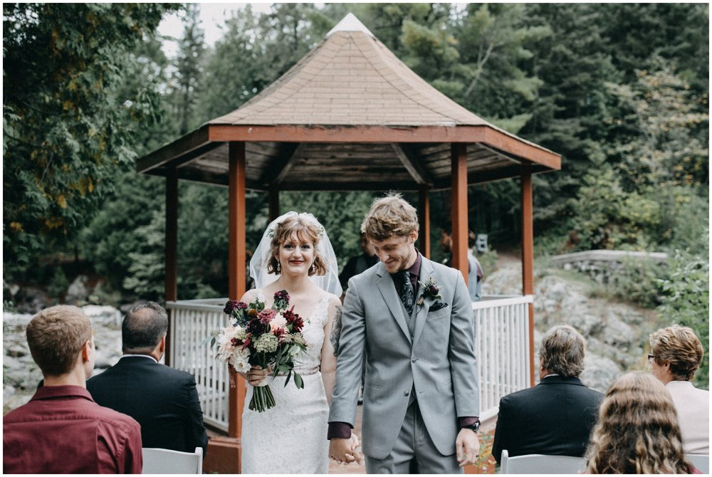 Duluth Minnesota wedding at Lester Park