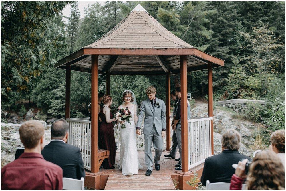 Lester Park wedding Duluth Minnesota