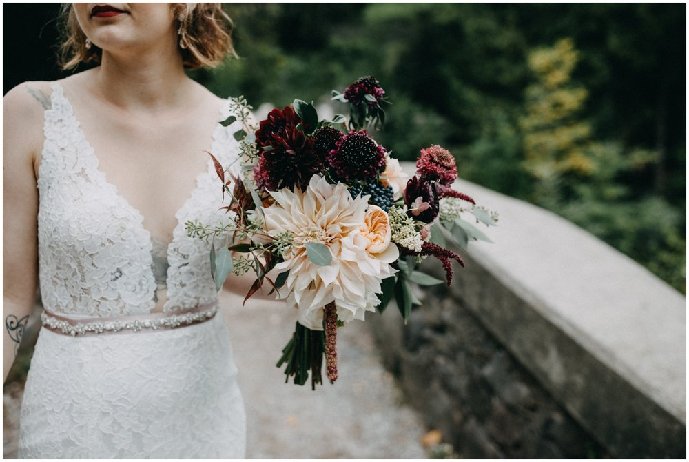 Romantic Duluth Minnesota elopement