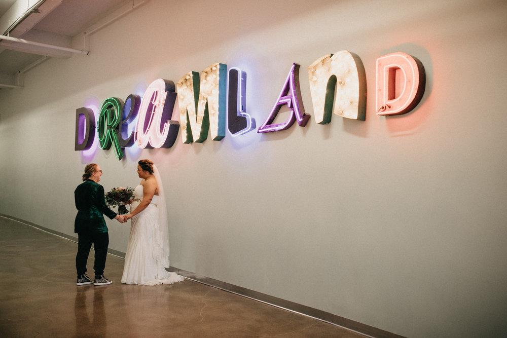 Wedding at Paikka in St Paul Minnesota