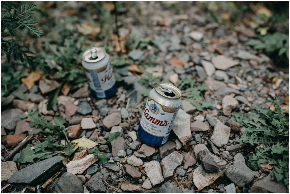 Hamms beer at Lester Park wedding in Duluth MN