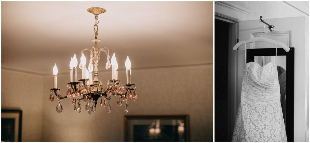 Timeless wedding at the St Paul College Club