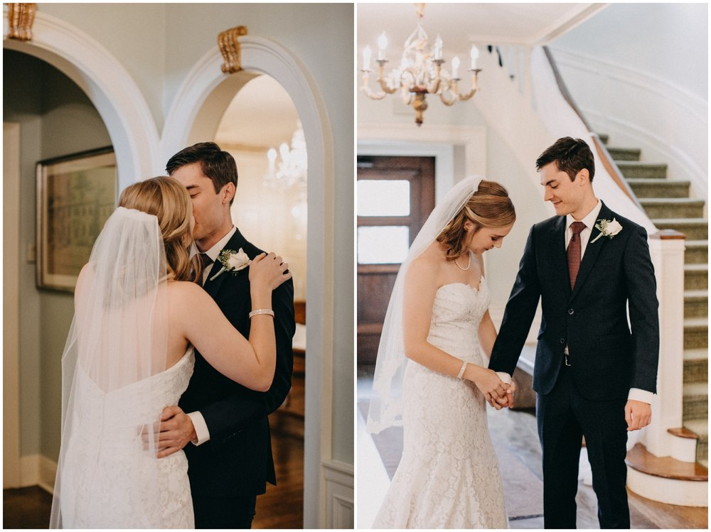 Elegant wedding at the St Paul College Club