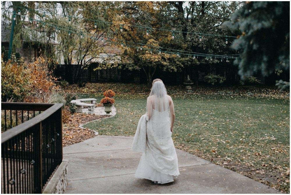 Backyard wedding at the St Paul College Club