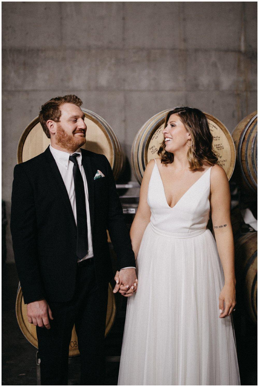 Winery wedding in Dellwood Minnesota