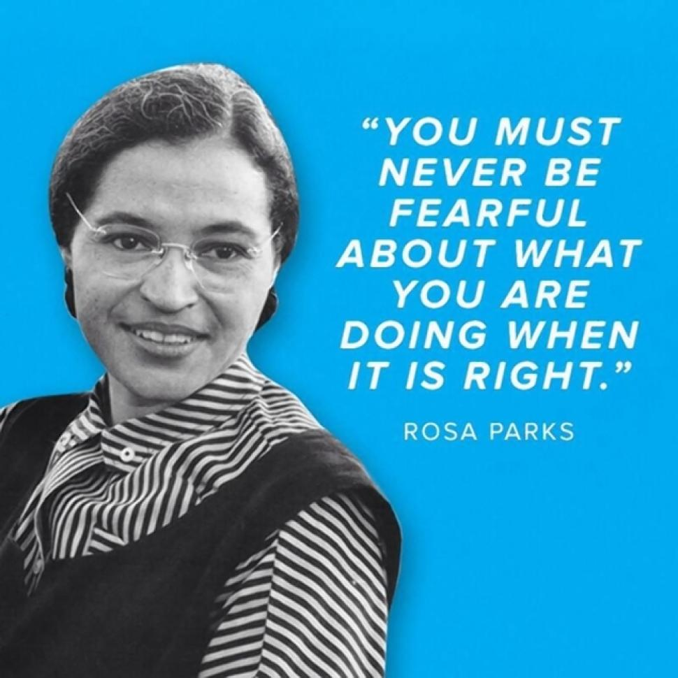 a history of rosa parks an african american civil rights activist African-american civil rights activist rosa lee louise mccauley parks rosa louise mccauleyparks statements instance of  shwiki rosa parks simplewiki rosa parks skwiki rosa parksov  view history more search navigation main page community portal project chat.