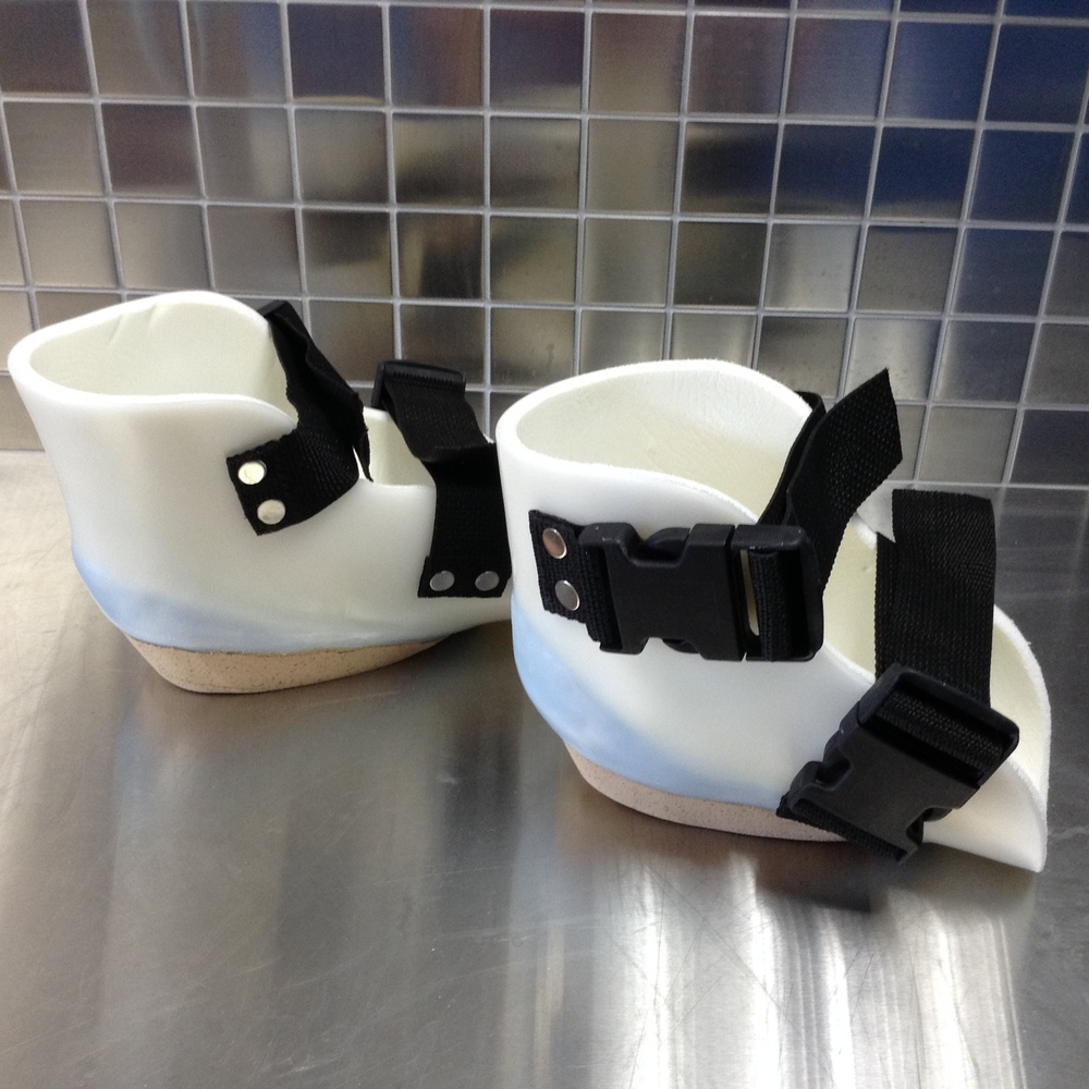 Custom Knee Pads for Ambulation