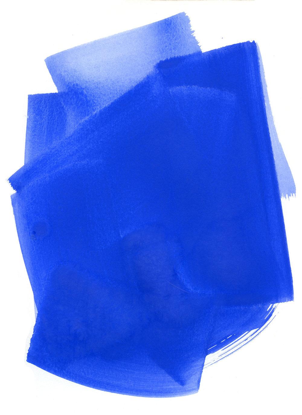 ULTRAMARINE BLUE -