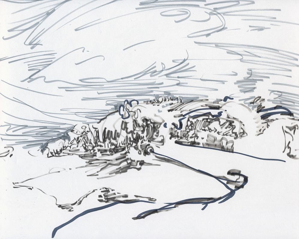 Invisible landscape 19.1.15-C