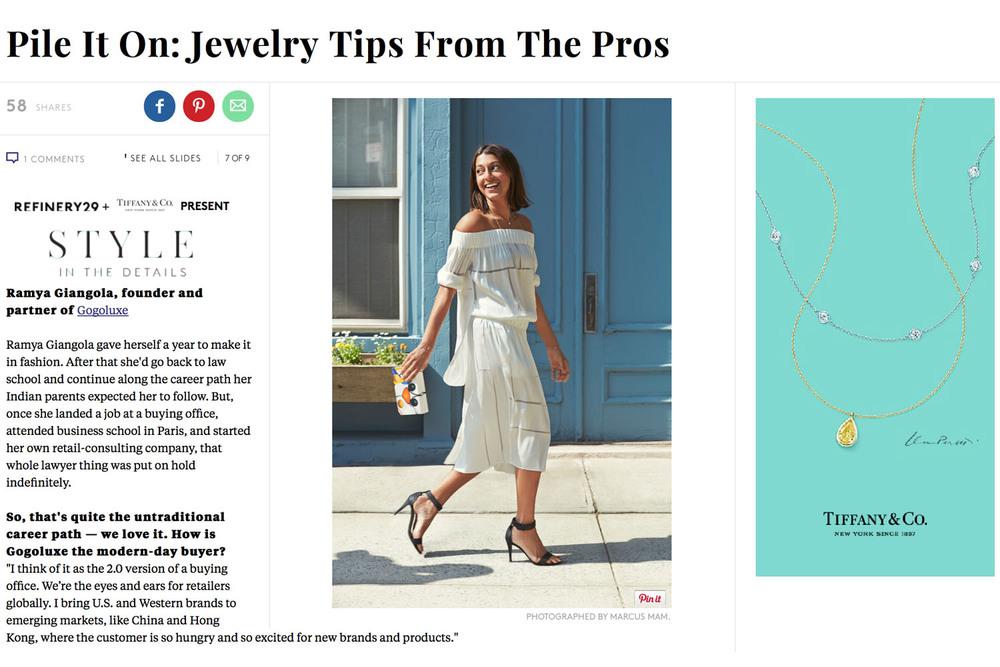 Tiffany & Co.x Refinery29  |Campaign