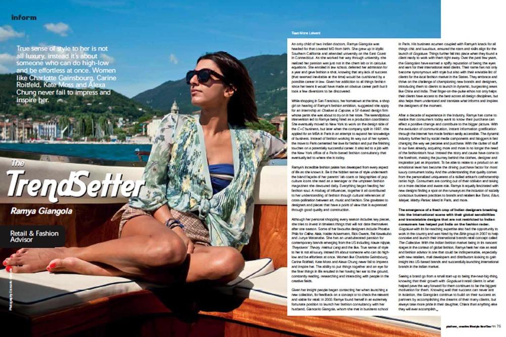 Platform Magazine  |Feature