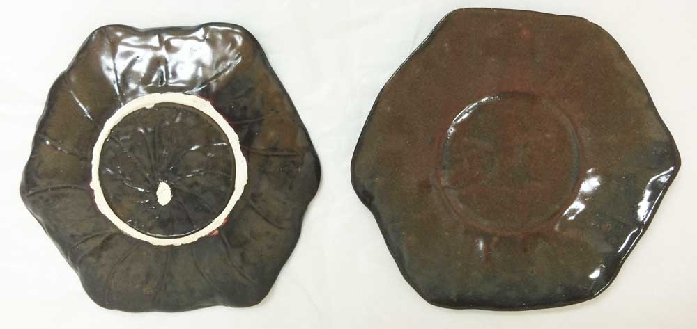 Brown Lotus Plates, 2015